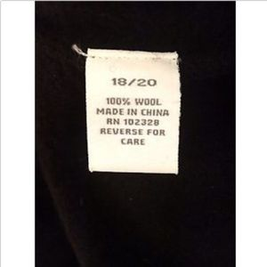 Dress Barn Sweaters - SORRY, IT'S SOLD! Dress Barn Wool Sweater Black